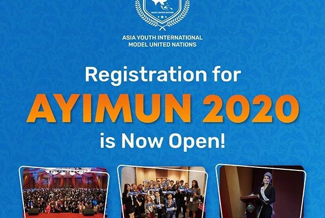 Asia youth international model United Nations 2020.mopportunities.com