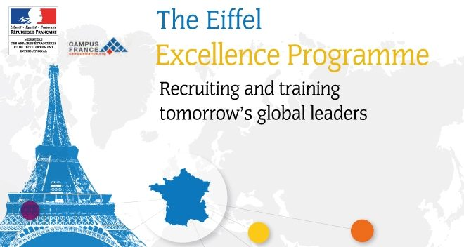Eiffel scholarship program of excellence for masters and phd in France 2020.mopportunities.com