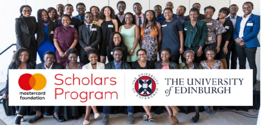 MasterCard Foundation scholars programme 2020-2021 university of edinburg.mopportunities.com