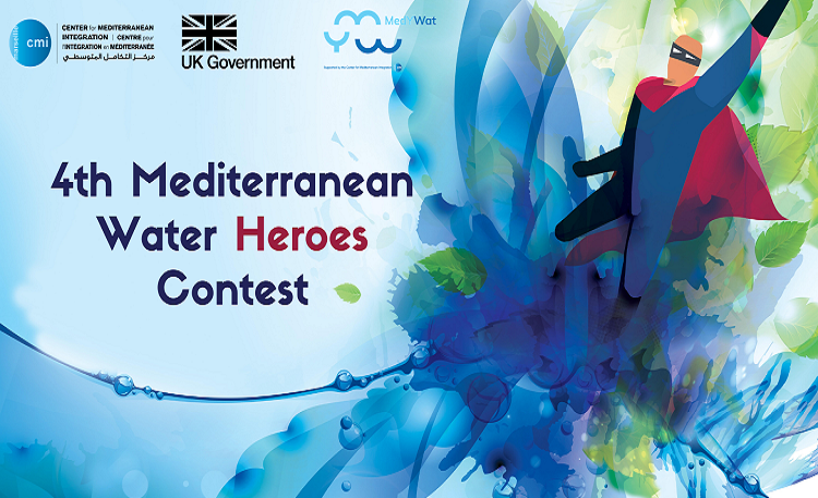 CMI 4th Mediterranean water Heroes contest on Water and Climate Change.mopportunities.com