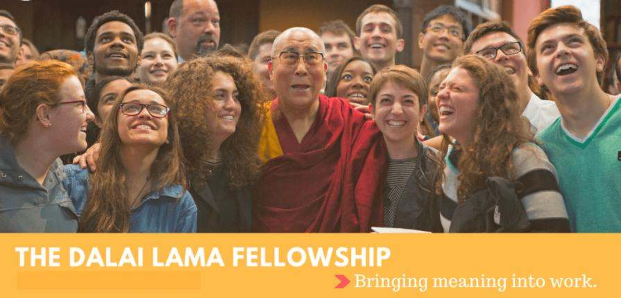 Dalai Lama Fellows program for emerging leaders 2020.mopportunities.com
