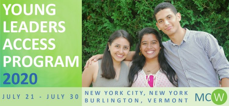 MCW Global Young Leaders Access Program 2020 (Fully Funded).mopportunities.com