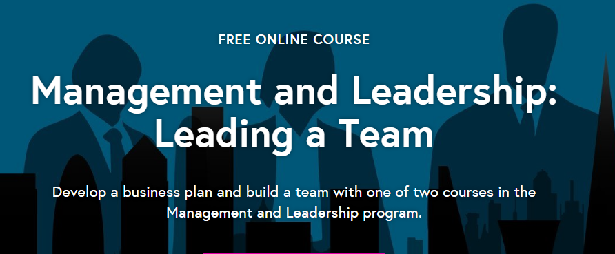 Future Learn- Management and Leadership; Leading a Team.mopportunities.com