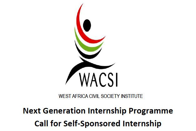WACSI Next Generation Internship Programme 2020.mopportunities.com