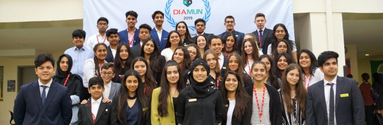 Dubai International Academy Model United Nations Conference 2020.mopportunities.com