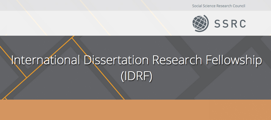 Research assistant dissertations