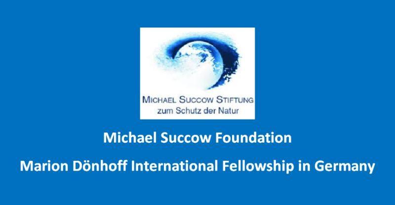 Michael-Succow-Foundation-Marion-Dönhoff-International-Fellowship-in-Germany_mopportunities.com