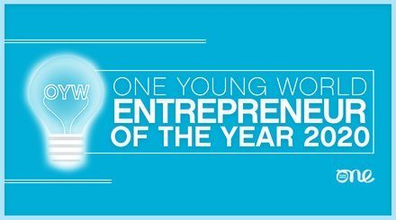 One Young World's Entrepreneur of the Year Award 2020.mopportunities.com