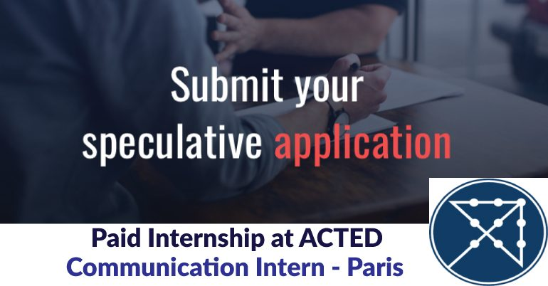 Paid Communication Internship at ACTED.mopportunities.com