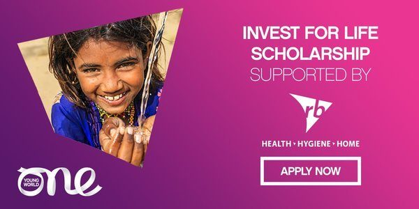 RB Invest for Life Scholarship to attend the One Young World Summit 2020.mopportunities.com