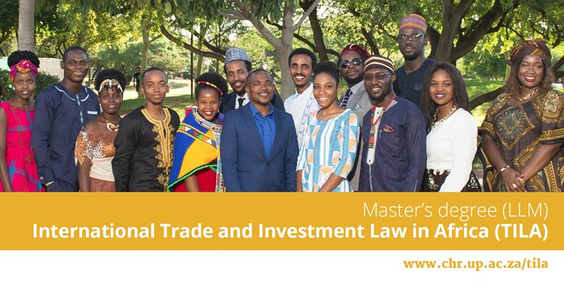 Centre-for-Human-Rights-Scholarship-for-LLM-in-International-Trade-Investment-Law-in-Africa-TILA-2020_mopportunities.com