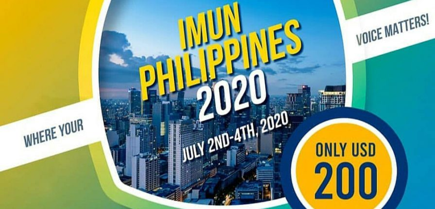 International Model United Nations Philippines 2020 is offering a remarkable chance to you for developing unparalleled leadership qualities while gaining more insight into international relations and tackling complex global issues.