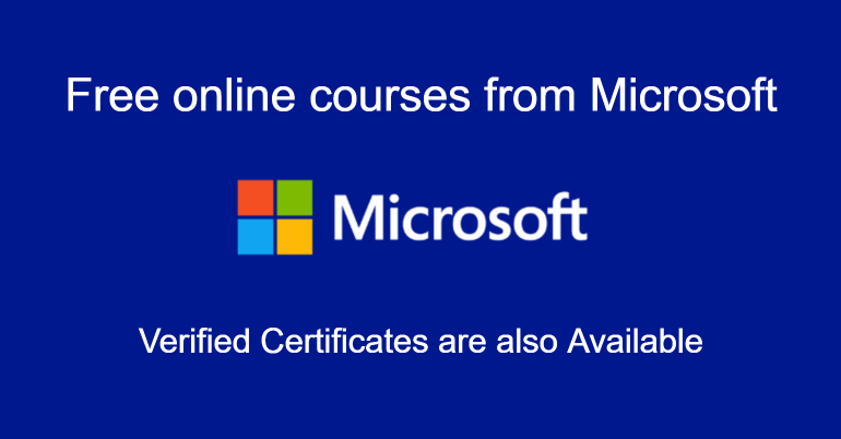 Microsoft Free Online Courses.mopportunities.com