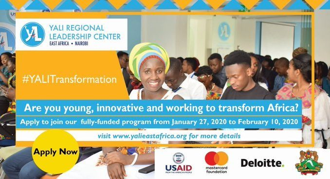 The YALI Regional Leadership Center East Africa 2020.mopportunities.com