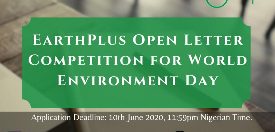 Earthplus open letter competition for world environment day.mopportunities.com