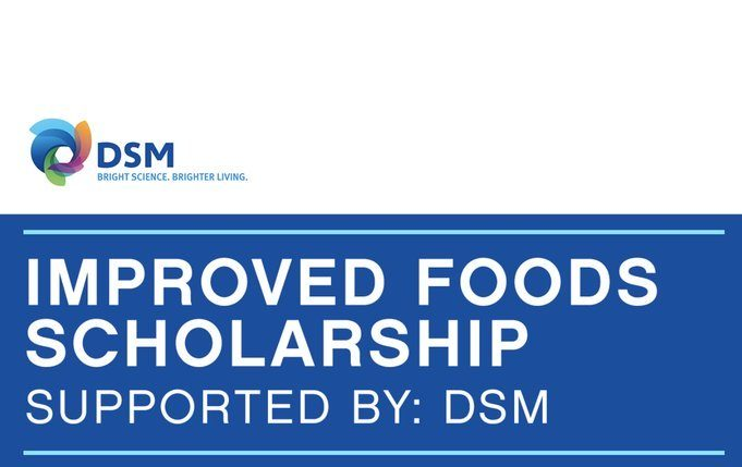 One Young World 2020- DSM- Improved Foods Scholarship.mopportunities.com