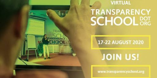 TRANSPARENCY INTERNATIONAL- VIRTUAL TRANSPARENCY SCHOOL 2020.mopportunities.com