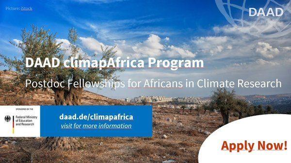 daad-climapafrica-postdoc-fellowship-2020_mopportunities.com